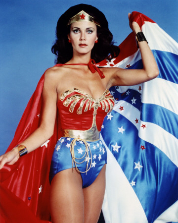 7HEQG00Z Lynda Carter Wonder Woman